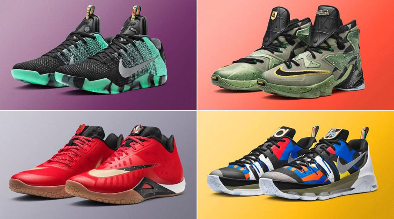 Photos: Nike unveils All-Star sneakers for LeBron, Kobe, Kyrie and more